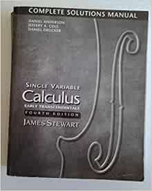 solution manual to stewart calculus