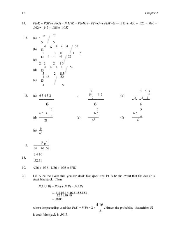 a course in probability weiss solution manual