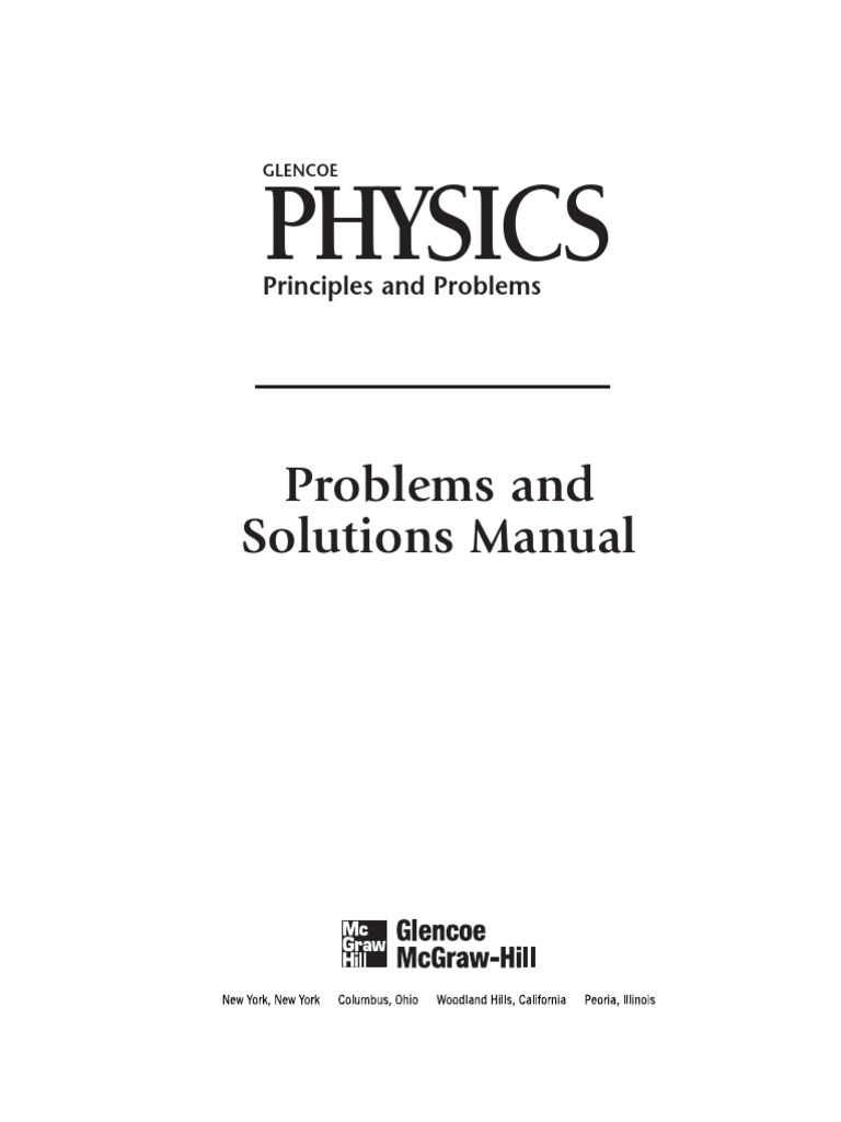 physics for the life sciences solutions manual pdf